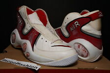 ORIGINAL OG NIKE AIR ZOOM  FLIGHT 1995 95 HI HIGH WHITE RED ii PENNY 1 i SZ 11