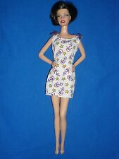 Barbie Size Fashion ~Nautical Print Dress ~ Doll not Included
