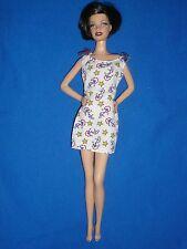 Barbie taille fashion ~ nautique robe imprimée ~ poupée non incluse