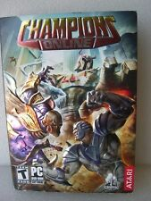 Atari CHAMPIONS ONLINE PC/DVD-ROM software, new, sealed package UPC#742725278714