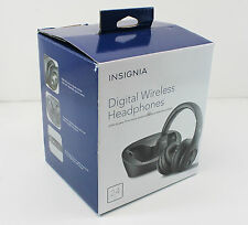 NEW INSIGNIA Digital Wireless Headphones for TV & Audio Devices NS-WHP314