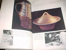 WARREN MACKENZIE OESTREICH TIM CRANE SHIRLEY JOHNSON ROEHM MODERN STUDIO POTTERY