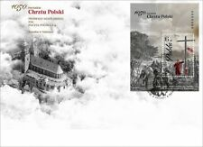 Pologne 2016 FDC 1050. Anniversary of christianisation of poland (2016; nr cat.: 175