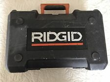?? CASE ONLY - RIDGID R2600 5'' RANDOM ORBIT SANDER