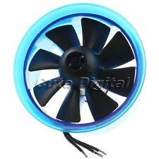 3900KV Brushless Motor EDF 70mm 8 Blade Eletric Duct Fan for Helicopter Aircraft