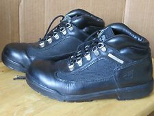 Timberland Black Leather Work Hiking Boot Laced 5 1/2