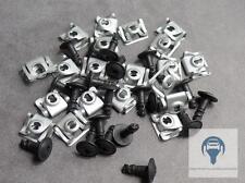 5X Unterfarschutz Motorschutz Reparatur Kit Clips Schraube für BMW E39, E38, E52