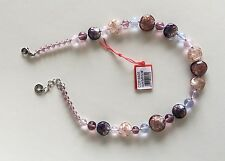 Antica Murrina Solaris--Handmade Adventurine And Murano Glass Bead Necklace