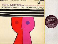 TOMMY MOTTOLA string band strum along HA-Z 2442 original uk mono 1961 LP EX/VG+
