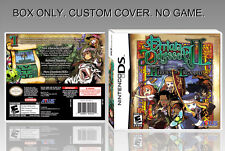 NINTENDO DS : ETRIAN ODYSSEY 2. UNOFFICIAL COVER. ORIGINAL BOX. NO GAME. ENGLISH