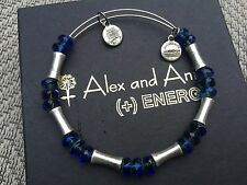 ALEX and ANI Eden's Equinox AZURE GLADE Russian SILVER Beaded Bangle BRACELET