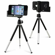 Rotatable Tripod Stand Camera Holder for Apple iPhone 5 4 4S 4G iPod Mobile New