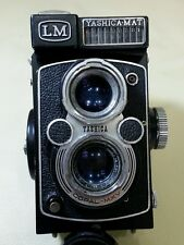 YASHICA LM 1957  TLR 120 VINTAGE ANTIQUE CAMERA WORKING CONDITION