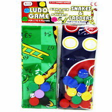 Giant Playmats Twin Games Pack Playmat Ludo and Snakes & Ladders Children Games