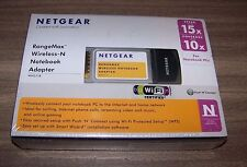 NETGEAR WN511B RANGEMAX WIRELESS-N NOTEBOOK ADAPTER NEW IN BOX SHRINK WRAPPED