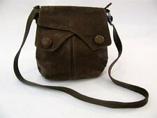 DANIER LEATHER BROWN OVER SHOULDER CROSS BODY MESSENGER BAG PURSE VINTAGE TOTE
