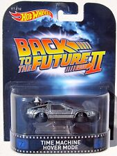 HOT WHEELS RETRO TV MOVIE CAR BACK TO THE FUTURE PART II TIME MACHINE HOVER MODE