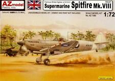 SPITFIRE Mk VIII RAAF ( 3 x AUSTRALIAN MARKINGS) 1/72 AZ MODEL LIMITED EDITION
