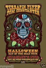 Music Poster/ Grateful Dead /'Halloween Day of the Dead Tour'/Jerry Garcia