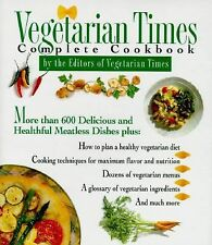 Vegetarian Times Complete Cookbook Lucy Moll Hardcover
