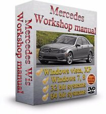 Mercedes Electrical Wiring Diagrams & Schematics + WIS & EPC - Repair Manual DVD