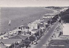 FOLLONICA (Grosseto) - Lungomare e Spiaggia 1956