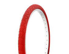 "1-24x1.50"" RED SLICK BMX MOUNTAIN BIKE BICYCLE DURO TIRE #262395"