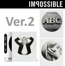 Ver 2.0 - Impossible Project Black and White B&W ROUND FRAME Polaroid 600 Film