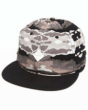 ALTAMONT Mens PAINT BY CAMO Black SKATE BOARD Base BALL CAP Hat CAMOUFLAGE Grey!