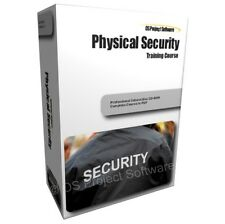 Physical Security Personal Protection Measures Systems Training Course PC CD