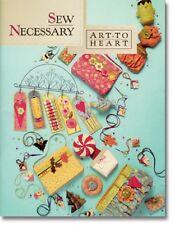 Sew Necessary Art to Heart Nancy Halvorsen  Quilt Book