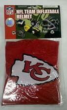 Kansas City Chiefs Inflatable/Blow Up Helmet NEW - Great Halloween Costume