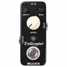 New Mooer Trelicopter Optical Tremolo Micro Guitar Effects Pedal!