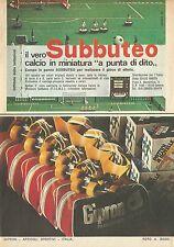 X4718 SUBBUTEO - Pubblicità 1975 - Advertising