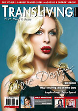 TRANSLIVING ISSUE 48 TRANSVESTITE CROSS DRESSER TRANSGENDER LIFESTYLE MAGAZINE
