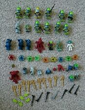 Large Lego Atlantis Squid Manta Diver minifigures job lot bundle and accessories
