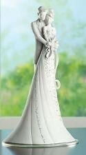 Gina Freehill Embrace Wedding Cake Topper