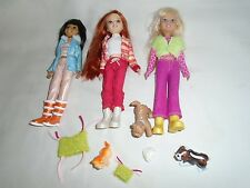 "Barbie Mattel WEE 3 Three FRIENDS 10"" DOLLS : STACIE, JANET, LILA"
