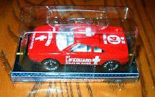 """RIGHTEOUS RACERS Red Ferrari """"My Lifeguard Walks on Water""""  Mint in box"""