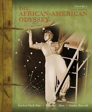 The African-American Odyssey Volume 2 Darlene Clark Hine Fifth Edition Book
