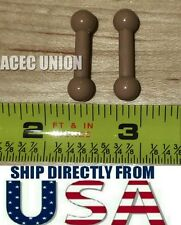 2PCS 1/6 Long Foot Leg Pegs Joint Adapter For Hot Toys Body - U.S.A. SELLER
