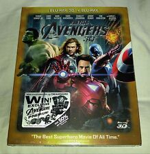New Avengers Blu-ray 3D+2D VMB (like Steelbook) + Slipcover Singapore Exclusive