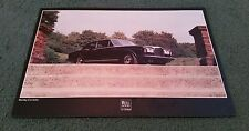 1978 1979 BENTLEY CORNICHE COUPE UK SINGLE SHEET LEAFLET BROCHURE Rolls Royce