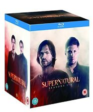 Supernatural: Seasons 1-10 - Complete Series [Blu-ray Set, Region Free, 39-Disc]