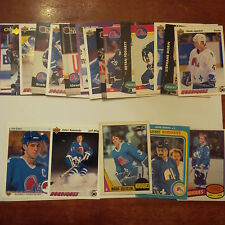 Quebec Nordiques Lot of 25 cards-70's/80's Cards, Nordiques Heros, Rookie Cards