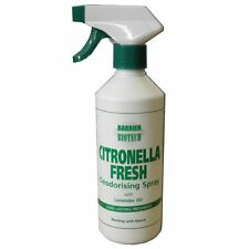 Barrier Citronella Fresh Deodorising Spray 500ml Stops horses eating straw beds