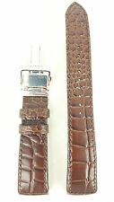 Original Seiko Premier Brown Leather Watch Strap 4A071 B 21 Band 7D56 0AA0 6A32