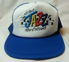 Snapback Trucker Hat Mesh All That Jazz New Orleans One Size Fits All