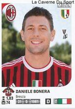 DANIELE BONERA # ITALIA AC.MILAN RARE UPDATE STICKER CALCIATORI 2012 PANINI