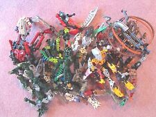 LEGO BIONICLE FIGURES PARTS PIECES WEAPONS LOT OF 3 LBS